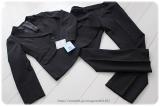 ◆着画レポ◆自宅で洗える!「夢展望」のストレッチアンクル丈パンツスーツの画像(1枚目)