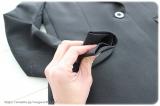 ◆着画レポ◆自宅で洗える!「夢展望」のストレッチアンクル丈パンツスーツの画像(7枚目)