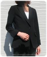 ◆着画レポ◆自宅で洗える!「夢展望」のストレッチアンクル丈パンツスーツの画像(22枚目)