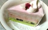 コージーコーナー桜のケーキの画像(1枚目)