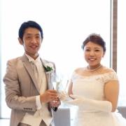 「結婚式の時の写真です。」【30名様に!】写真から作成するオリジナルクオカード1000円券!!の投稿画像