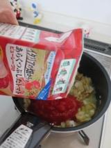 「日本製粉株式会社さんの【ナガノトマト】あらくつぶしたトマト ピューレーづけでペスカトーレ♪」の画像(11枚目)