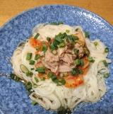 「私はこうして食べています♡「流水麺」♡」の画像(4枚目)