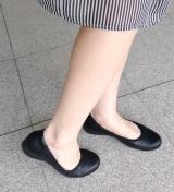 「ムレない&足が痛くならない万能ペタ靴  #アーチフィッター  #132フラットプレーンパンチング #AKAISHI」の画像(6枚目)