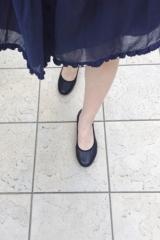 「ムレない&足が痛くならない万能ペタ靴  #アーチフィッター  #132フラットプレーンパンチング #AKAISHI」の画像(17枚目)