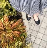 「ムレない&足が痛くならない万能ペタ靴  #アーチフィッター  #132フラットプレーンパンチング #AKAISHI」の画像(9枚目)