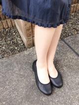 「ムレない&足が痛くならない万能ペタ靴  #アーチフィッター  #132フラットプレーンパンチング #AKAISHI」の画像(16枚目)