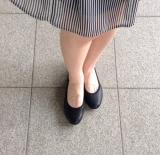 「ムレない&足が痛くならない万能ペタ靴  #アーチフィッター  #132フラットプレーンパンチング #AKAISHI」の画像(8枚目)