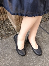 「ムレない&足が痛くならない万能ペタ靴  #アーチフィッター  #132フラットプレーンパンチング #AKAISHI」の画像(18枚目)