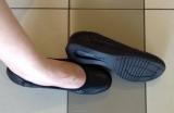 「ムレない&足が痛くならない万能ペタ靴  #アーチフィッター  #132フラットプレーンパンチング #AKAISHI」の画像(5枚目)