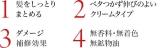 「大島椿 ヘアクリーム 髪しっとりまとまる!」の画像(2枚目)