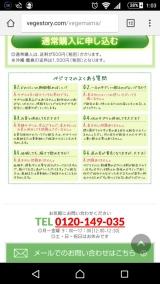口コミ記事「ベジママモニター」の画像