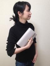 「ママもお洒落に決めたい!助かるたっぷりすっきり収納♡ Litta Glitta 母子手帳クラッチ」の画像(4枚目)