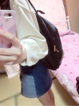 「♡Kraso 買い物帰りも背負ってらくらく 小さくたためる ポケッタブルリュック♡」の画像(9枚目)