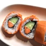 「   【 こどもごはん 】こどももお気に入り♫カラフルな巻き寿司 」の画像(4枚目)