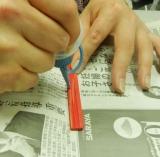 「職人技の融合ブランド「amorph」(アモルフ)☆ブックカバー手作り体験会」の画像(5枚目)