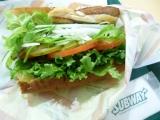 サブウェイ野菜ラボ グランフロント大阪限定「ミニセロリ+ローストチキン」の画像(1枚目)