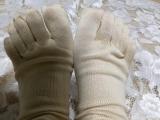 「シルクと綿のいいとこ取り☆『シルクを綿で守る5本指靴下』山忠」の巻の画像(5枚目)