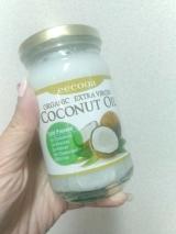 「中鎖脂肪酸69.2%♡エクーア エキストラバージンココナッツオイル」の画像(1枚目)