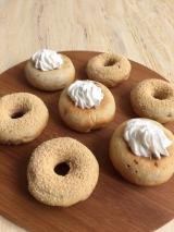 格安!ドーナツメーカーで簡単おやつ♪ 焼きドーナツ♡ きな粉&ホイップクリームでカフェ風の画像(7枚目)