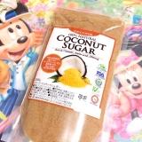 「ココナッツシュガーは黒糖の味♪♪コレめっちゃ美味しい!」の画像(1枚目)