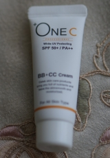 「+OneC(プラワンシー) BB+CCクリームで忙しい朝にも楽ちん♪」の画像(2枚目)