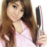 「【私のガチ愛用品】ブラシ型アイロンB-100で髪の毛サラツヤ!!」の画像(3枚目)