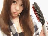 「【私のガチ愛用品】ブラシ型アイロンB-100で髪の毛サラツヤ!!」の画像(5枚目)