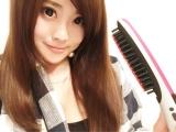「【私のガチ愛用品】ブラシ型アイロンB-100で髪の毛サラツヤ!!」の画像(2枚目)