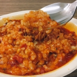 「明治 完熟トマトと十勝産チーズのリゾット&濃厚チーズリゾット」の画像(11枚目)