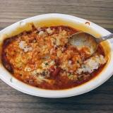 「明治 完熟トマトと十勝産チーズのリゾット&濃厚チーズリゾット」の画像(9枚目)