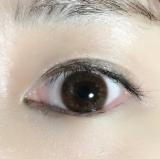 エバーカラーワンデールクアージュ♡リッチナイト カラコン♡レポ - 使ってみた☆購入品の画像(4枚目)