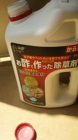 子供にも安心な食品成分の除草剤♪の画像(4枚目)