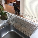 「大容量でお皿がしっかり立つ【水切りラック】」の画像(1枚目)