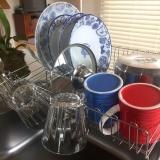 「大容量でお皿がしっかり立つ【水切りラック】」の画像(7枚目)