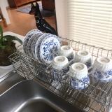 「大容量でお皿がしっかり立つ【水切りラック】」の画像(6枚目)
