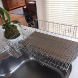 「大容量でお皿がしっかり立つ【水切りラック】」の画像(4枚目)