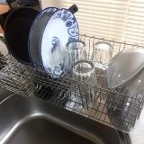 「大容量でお皿がしっかり立つ【水切りラック】」の画像(5枚目)