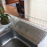 「大容量でお皿がしっかり立つ【水切りラック】」の画像(3枚目)