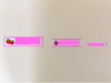 サイズが選べるお名前シール ❁の画像(4枚目)