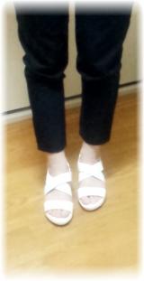 「まるで足のベッド!?<夢展望>フットベッドサンダルを履いてみました」の画像(4枚目)