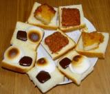 「   マシュマロと食パン 」の画像(2枚目)