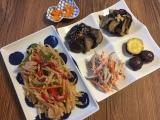 食物繊維たっぷり♪酢ベジ&青椒肉絲弁当(旦那)の画像(6枚目)