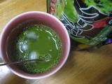 玉露園の宇治抹茶配合「濃いグリーンティー」をアイスで飲みたいの画像(3枚目)