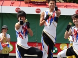 「USJターンアップザストリート男子新体操部特集!!(7/12・1回目)」の画像(64枚目)