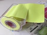 貼ってはがせるテープ型フセン ♪ 『メモックロールテープ』の画像(2枚目)