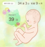 「33w6d 友達との産前ランチ」の画像(1枚目)