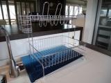 「斜めに流れる2段水切り右置き用食器カゴの我が家でのメリットデメリットをレビュー!」の画像(1枚目)