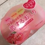 可愛い桃みたいな石鹸の画像(1枚目)