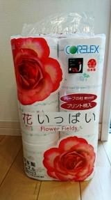 「*花いっぱいトイレットペーパー」の画像(1枚目)